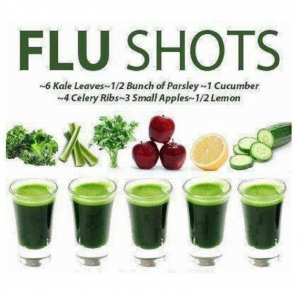 natural flu shots